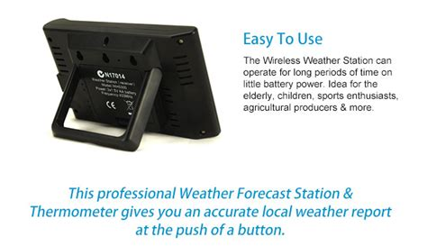 wireless personal home weather station bestdeals co nz