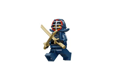 Lego Minifigure Ninjago Kendo kendo fighter characters minifigures lego