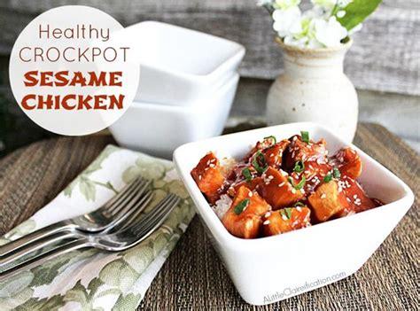 healthy easy crock pot sesame chicken sesame chicken crock pot and pots