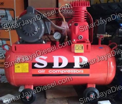 Kompresor Shark 1 4 Hp kompresor sdp 1 4 hp comp only sinar jaya diesel