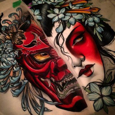 tattoo carranca oriental significado image result for yokai tattoo tattoo pinterest