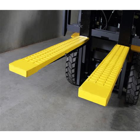 Forklift Cover by Fork Extensions Rubber Forklift Tyne Grip Covers 125 X 1370mm
