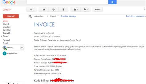 cara membuat invoice email cara membuat buku pelaut online nautic official