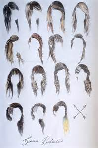 pencil drawing of hair styles of sierra s hairstyles by mrsxbenzedrine on deviantart