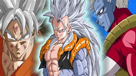 imagenes de goku blanco goku super sayayin dios blanco y nuevo villano dragon