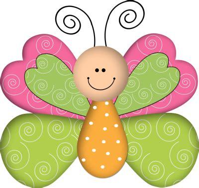 imagenes infantiles animadas animales infantiles mariposa fucsia y verde