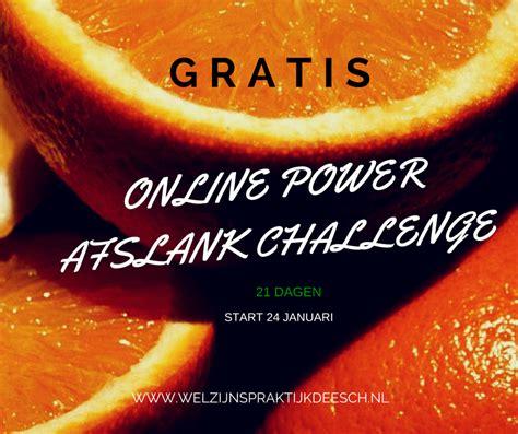 power challenge gratis power challenge om af te slanken