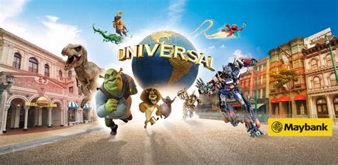 Adulttiket Universal Studio Singapore Open Date maybank exclusive universal studios singapore one day