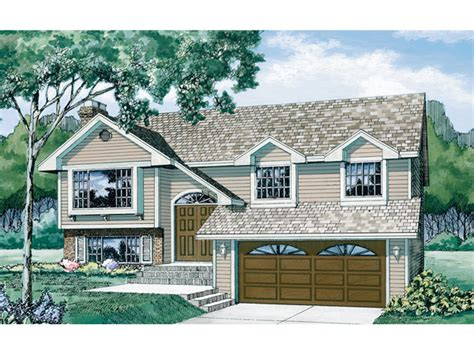 split level house plan brookview split level home plan 062d 0195 house plans