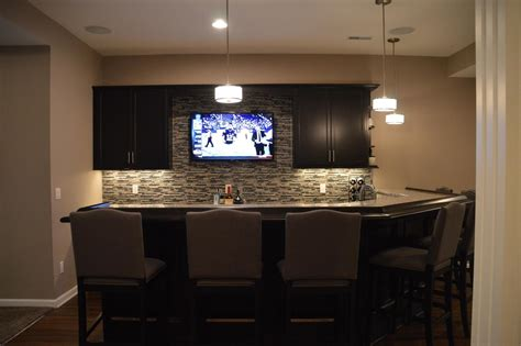 warrantied basement remodeling by certified contractors in
