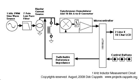 circuit diagram of inductance meter experimental 1 khz inductance meter measuring and test circuit circuit diagram seekic
