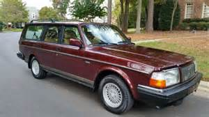 volvo  wagon classic  owner  sale  technical specifications description