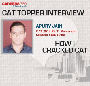Fms Executive Mba Placements by Cat Topper Fms Student Apurv Jain Shares Cat