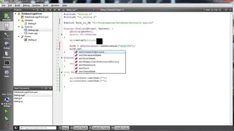qt android tutorial youtube c qt sqlite login with database funnycat tv
