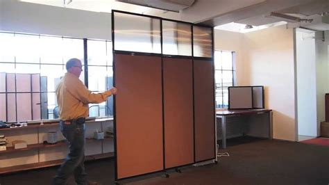 The Tall Wall   Sliding Wall Mounted Room Divider by