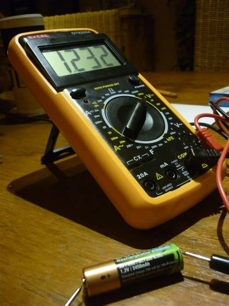 how to test a capacitor by multimeter how to test a capacitor with a multimeter