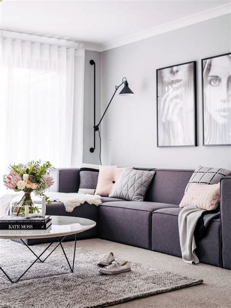 grey home interiors best 25 purple interior ideas on