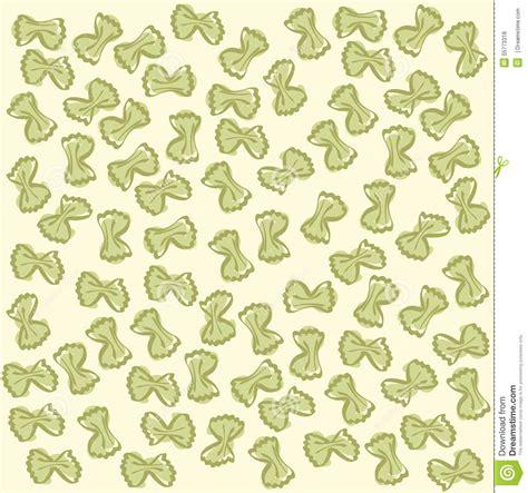 vector italian pasta pattern stock illustration yellow farfalle pattern italian pasta vector stock vector