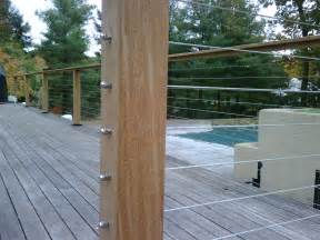 Patio Handrail by Design Your Own Deck Railing System