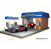 American Diorama Buildings  Car Wash With 4