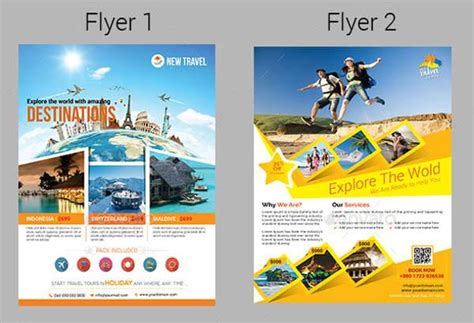 Tour Design Template by Design Templates Premium Psd V And Trip Flyer