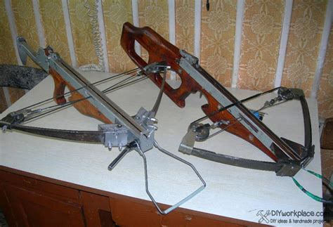 Handmade Crossbows - diy foldable crossbow