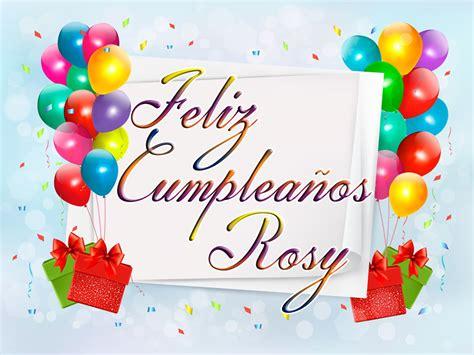 Imagenes Feliz Cumpleaños Rosy   foro colungateam