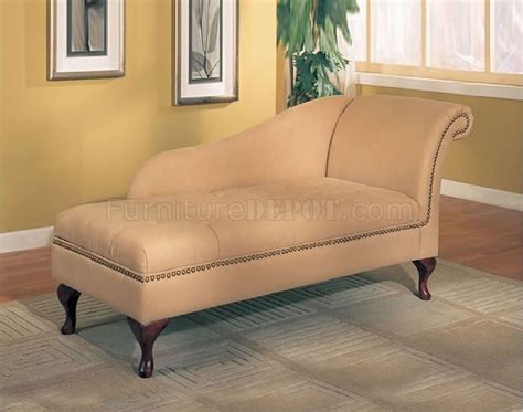 tan chaise lounge tan microfiber classic chaise lounge w flip open storage