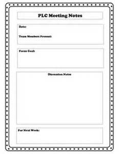 Plc Meeting Agenda Template by 1000 Ideas About Notes Template On Cornell