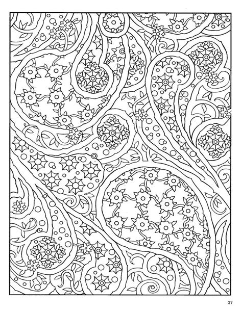 design coloring books paisley designs coloring pages