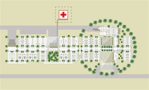 layout hospital gallery of mobile hospital hord coplan macht spevco 16