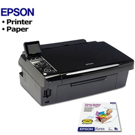 Printer Epson Stylus Nx130 All In One epson stylus nx400 all in one color inkjet printer refurbished epson s041062 matte coated