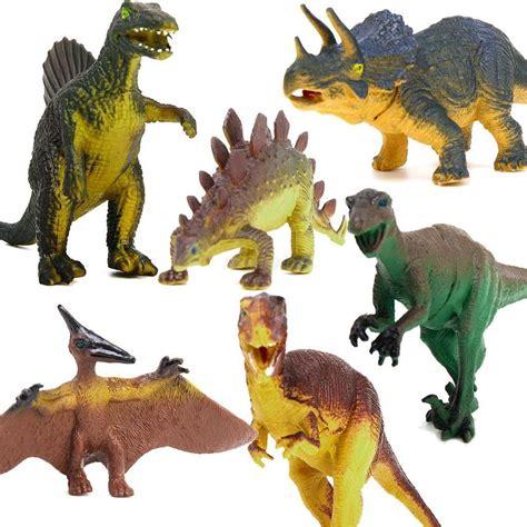 speelgoed dinosaurus dinosaur set tyrannosaurus stegosaurus triceratops