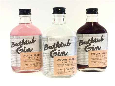 Bathtub Gin by 20 Great Gin Packaging Designs To Go With Your Tonic