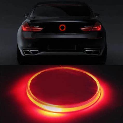 Bmw Logo Aufkleber Groß by 1 St 252 Ck Rote Led Licht Auto Aufkleber Aufkleber Logo