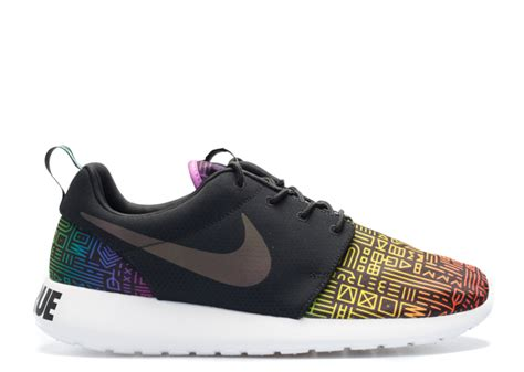 Nike Roshe Run Be True 1 roshe one bt qs blck blck lt crmsn o be true