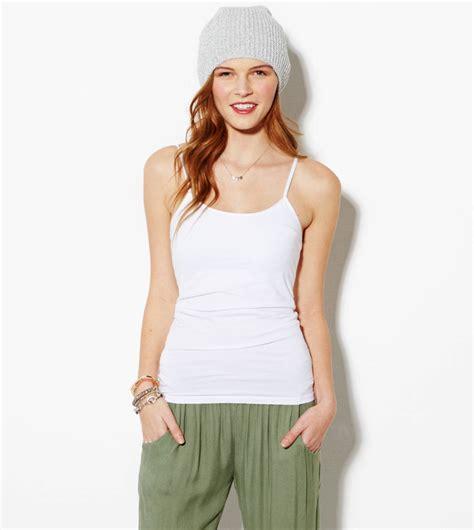 White Shelf Cami by Ae Shelf Cami White American Eagle Outfitters