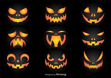 pumpkins faces pumpkin faces free vector stock graphics