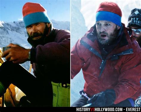 everest film reality rob hall and his onscreen counterpart jason clarke who