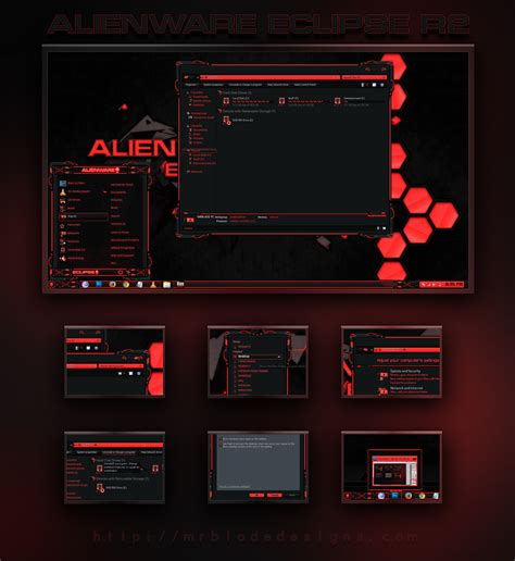 eclipse visual themes alienware eclipse r2 by mr blade on deviantart
