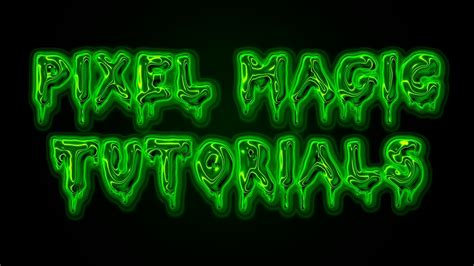 slime tutorial photoshop ghost slime text effect ectoplasm photoshop tutorial
