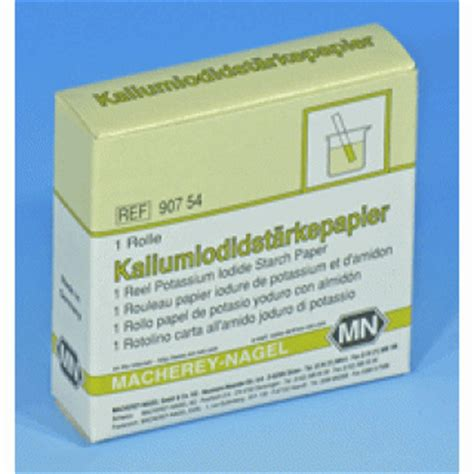 Starch Paper - potassium iodide starch paper qualitative tests webshop