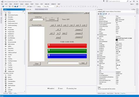 tutorial arduino visual basic arduino and visual basic part 3 controlling an arduino
