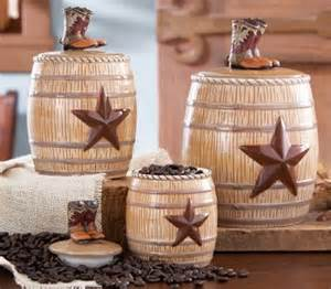 western kitchen canister set from collections etc for my daughter pinterest jars cookie
