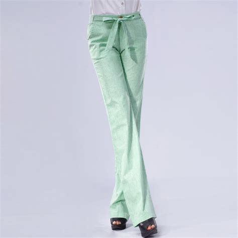 comfortable summer pants 2015 summer high grade comfortable breathable fabric women