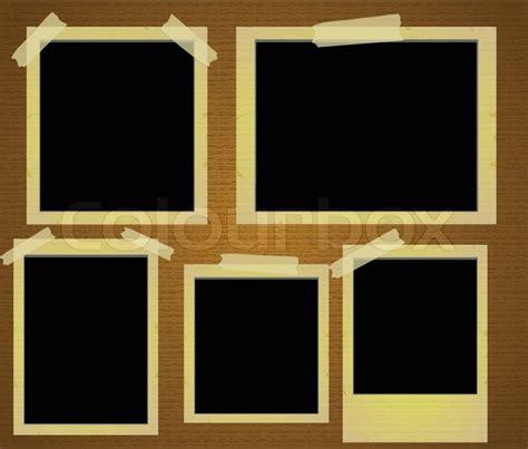alte fotorahmen photo frames vector stock vector colourbox