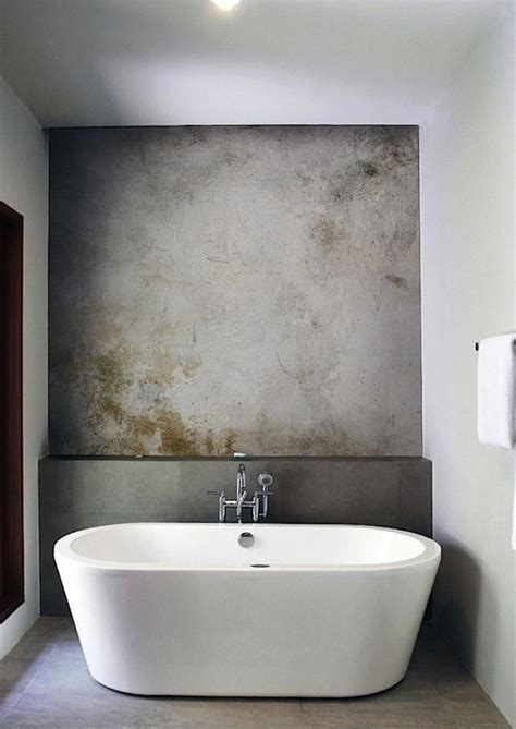 bathtub shower wall industrial chic bathroom architetturaxtutti
