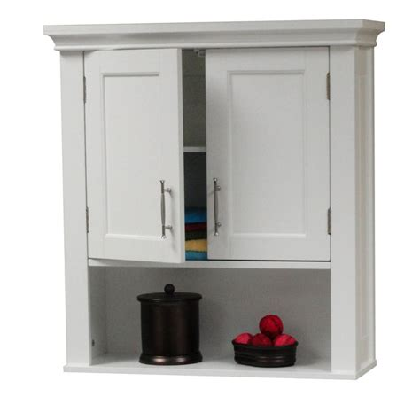 narrow wall cabinet for bathroom amazon com riverridge somerset wall cabinet with mirrors