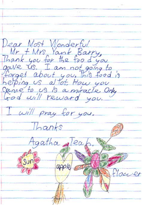 a child s letter to sle letter about your child sle