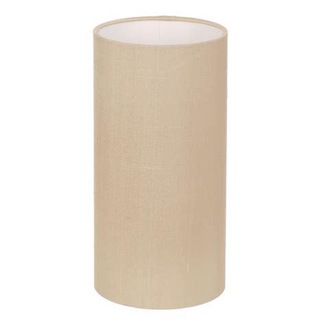 Cylindrical L Shade by 12cm Narrow Cylinder Shade Silk Royal Oyster Jim